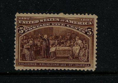 234   Mint  NH     catalog $180.00    RL1113a2