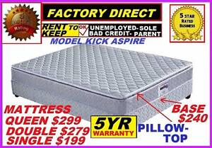 New Pillow Top Mattress. Cash Price $199.Rent To Own Option. Logan Area Preview