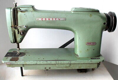 Lot Singer 281-5 Columbia 420-2 Consew 220 Machine Head Only One Head