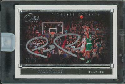 2020 Paini One And One Timeless Moments Paul Pierce 75/99 Auto Autograph