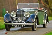 1939 Bentley Derby 4.25 litre Overdrive MX series Drophead Coupe