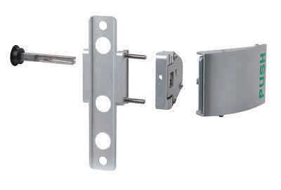 Locinox Push Pad Handle Set in Aluminium. 3006PUSH