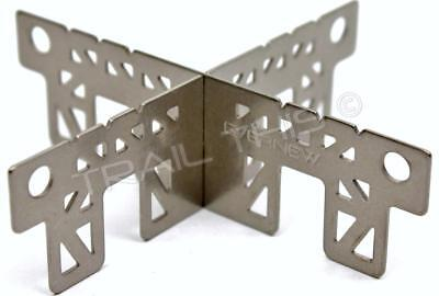 Evernew Ultralight Titanium Cross Stand for Ti Alcohol Stove 16g