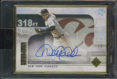 2020 Topps Transcendent Derek Jeter Yankees 1/3 Auto Autograph
