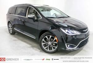2017 Chrysler Pacifica LIMITED *DVD*CUIR*TOIT PANO*NAV*FULL!! WO