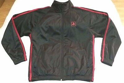 Sony Playstation 3 full-zip track jacket men sz S PS3 red/black Holloway PS2 PS4