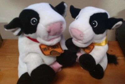 California Cows Talking Plush Puppets Diane And Janice for sale  San Lorenzo