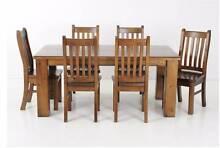 7 piece dining table set Tanah Merah Logan Area Preview