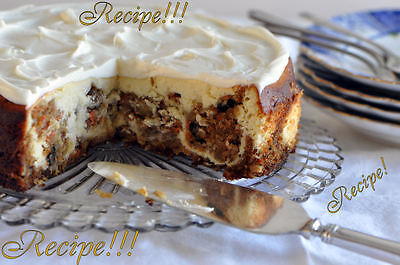 Carrot Cake Cheesecake  Recipe   Tastes Like Cheesecake Factory  From Scratch