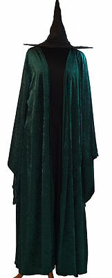 World Book Day-Harry Potter-Halloween-Mcgonagall-HOGWARTS WITCH All Ladies Sizes