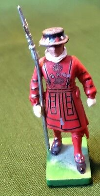 W. Britain 1990 England Collection London Beefeater Guard Soldier Figure