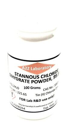 Stannous Chloride Sncl2 99 Acs Grade Powder 100 Grams Usa Same Day Ship