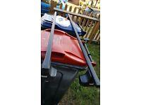 thule 1472 kit on roof rack thule bars ford S-Max MPV 06-