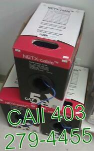 RJ45 1000 foot CAT5e box