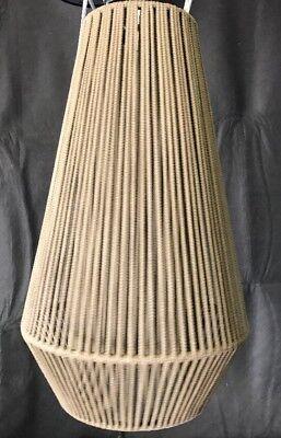 (Koord By El Torrent Braided Cord Ceiling Lamp   Light KD04 Pendant Beige (AA1)*)