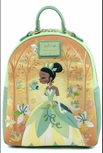 Loungefly Disney Princess & The Frog Tiana Mini Backpack NEW IN STOCK
