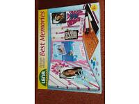 'Best Memories' picture frame making kit
