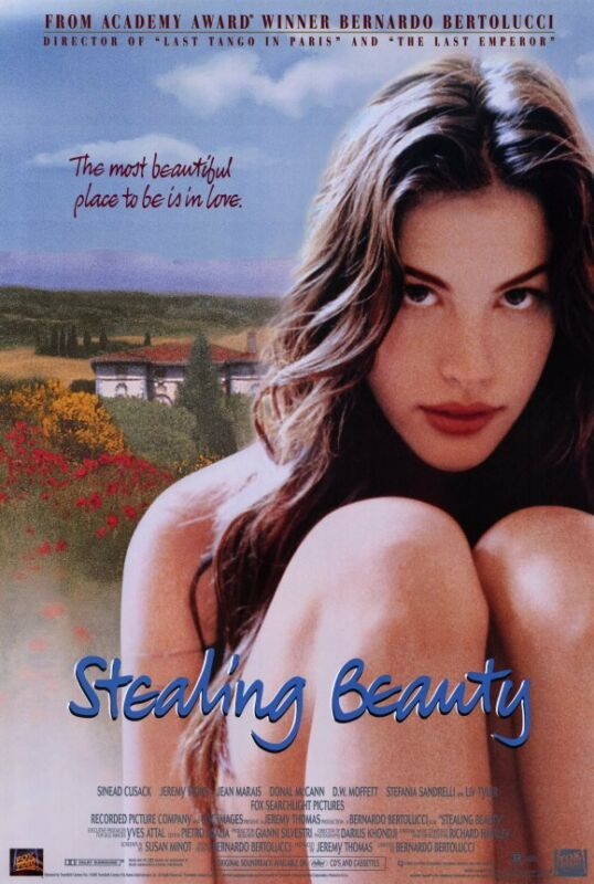 STEALING BEAUTY Movie POSTER 11x17 Liv Tyler Jeremy Irons Donal McCann Sinead