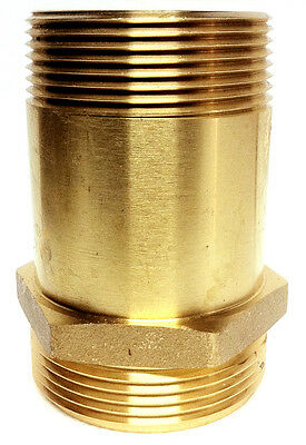 1-12 Fire Hose Rack Adapter Nipple 1-12 Male Nst X 1-12 Male Npt