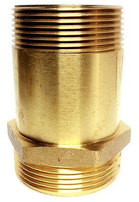 1-12 Brass Fire Hose Rack Nipple Hydrant Adapter 1-12 Male Nst X Male Npt