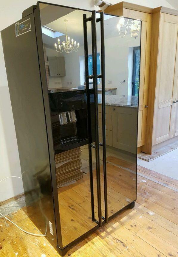 Samsung American Fridge Freezer With Mirror Doors