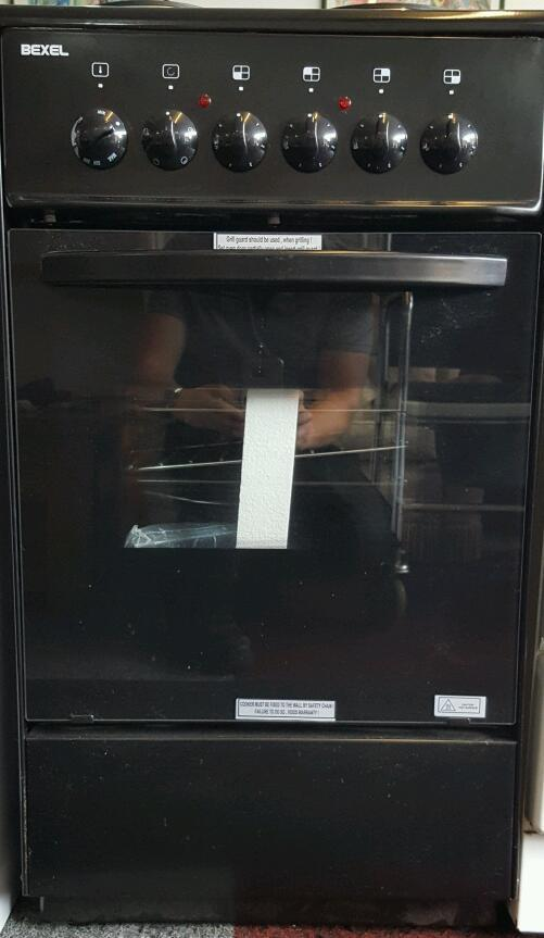 Single Oven Electric Cooker Part - 26: BEXEL ELECTRIC COOKER With Single Oven, Grill U0026 4 Burners