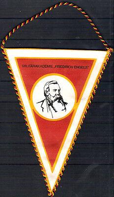 """Wimpel der Militärakademie """" Friedrich Engels """" NVA der DDR"""