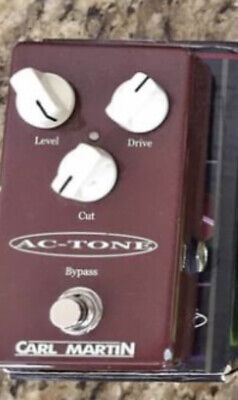 Carl Martin Single Channel AC-Tone Pedal Boxed