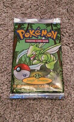 1st Edition Pokemon Jungle Booster Pack Sealed Original Scyther Art WOTC 1999