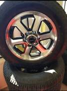 18 INCH RIMS AND 265/60/18 TYRE AND WHEEL PACKAGES Gateshead Lake Macquarie Area Preview