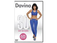 Davina 30 Day Fat Burn DVD