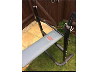 Pure fitness & sports weight bench