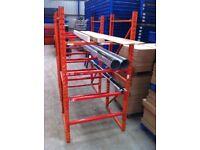 Plumber Pipe Carpet Timber HVAC Ductwork Artificial Grass Racking Rack Shelving