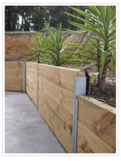 Timber Retaining Wall Construction in Adelaide