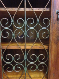 French Provincial Moroccan Bookshelf Pantry Book Case Shelving