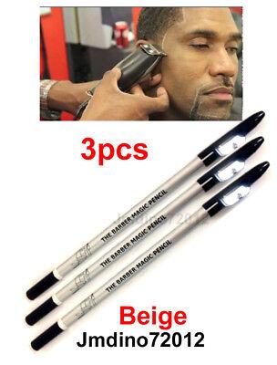 3pcs D.Beige Barber