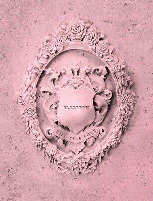 BLACKPINK 2nd Mini Album [KILL THIS LOVE] PINK Ver. CD+Book+Card+Lyrics+Sticker