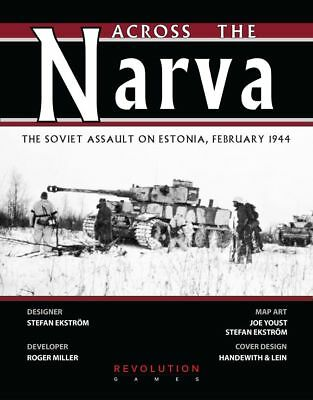 Revolution Wargames Across The Narva: The Soviet Assault on Estonia New In Zip](Revolution Game)