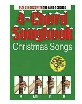 4-Chord Songbook: Christmas Songs Book ()