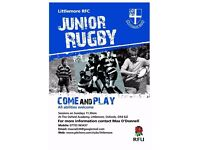Mini Junior Youth Rugby - Oxford Littlemore RFC Rugby