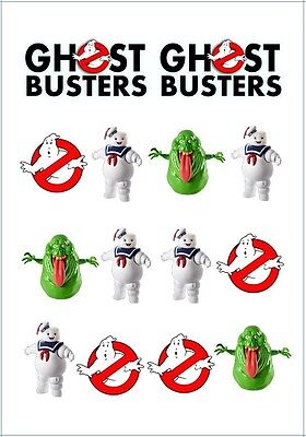 👻1x Ghostbusters Temporary TATTOO Sheet. Lolly Loot Bag Party Supplies Favor