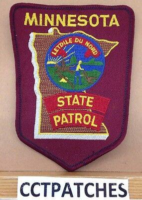 MINNESOTA STATE PATROL POLICE SHOULDER PATCH MN