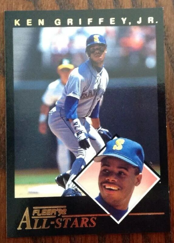 1992 Fleer All Stars Ken Griffey Jr. Mariners HOF