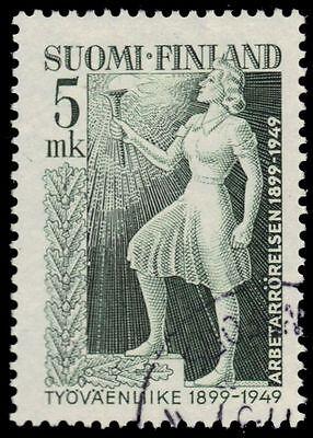 FINLAND 283 (Mi370) - Finnish Labor Movement 50th Anniversary (pf49350)