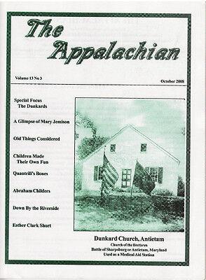The Appalachian October 2008 - History & Genealogy - HOLIDAY SALE