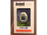 Bushnell Neo XS Golf Watch in White