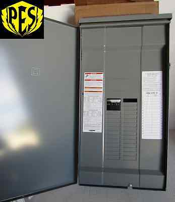 New Square D Qo327m100rb 3 Phase 27 Ckt 100 Amp Main Breaker Outdoor Panel