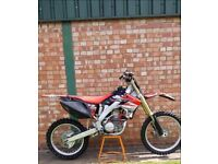 CRF 250 2009 RACE-TUNED LOADS OF TRICK BITS NOT KTM NOT KX NOT YZ