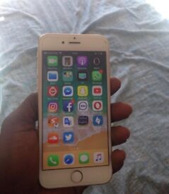 iPhone 6s, great condition, Vodafone, gold.