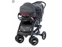 L@@k Mothercare Trenton Deluxe Complete Pram and Pushchair Travel System
